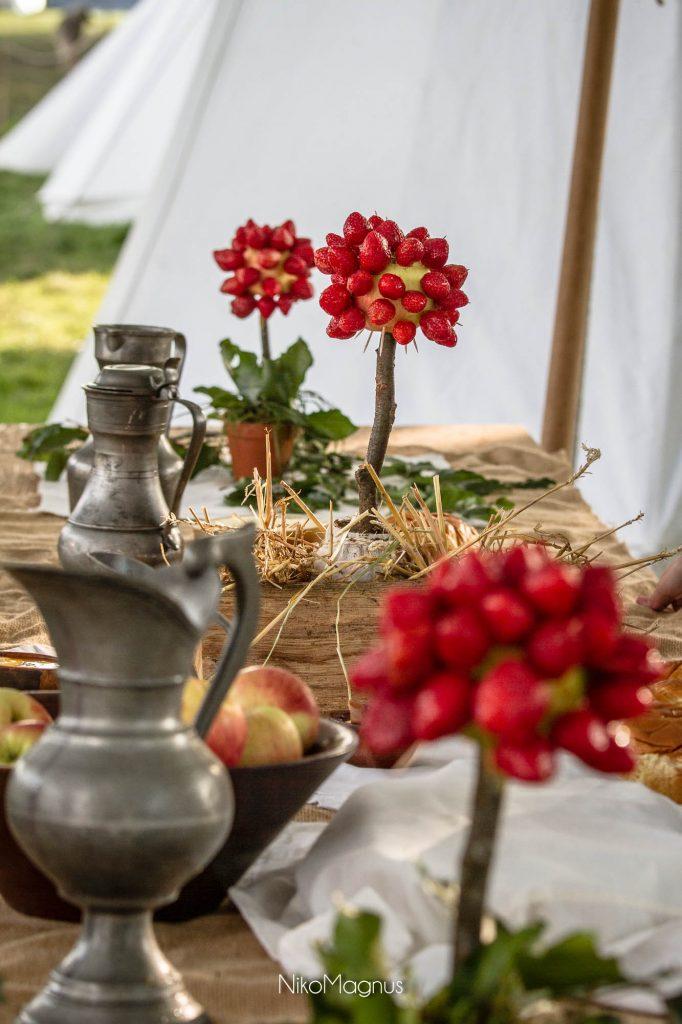 Un petit déjeuner royal XVIIIe siècle pour bien attaquer la journée - Photo : NikoMagnus