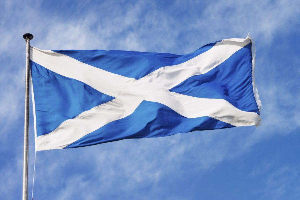 drapeau de l'Écosse