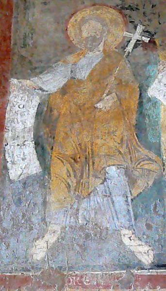 Mosaïque représentant Saint André - Basilique Saint-Paul-hors-les-murs - Ve siècle