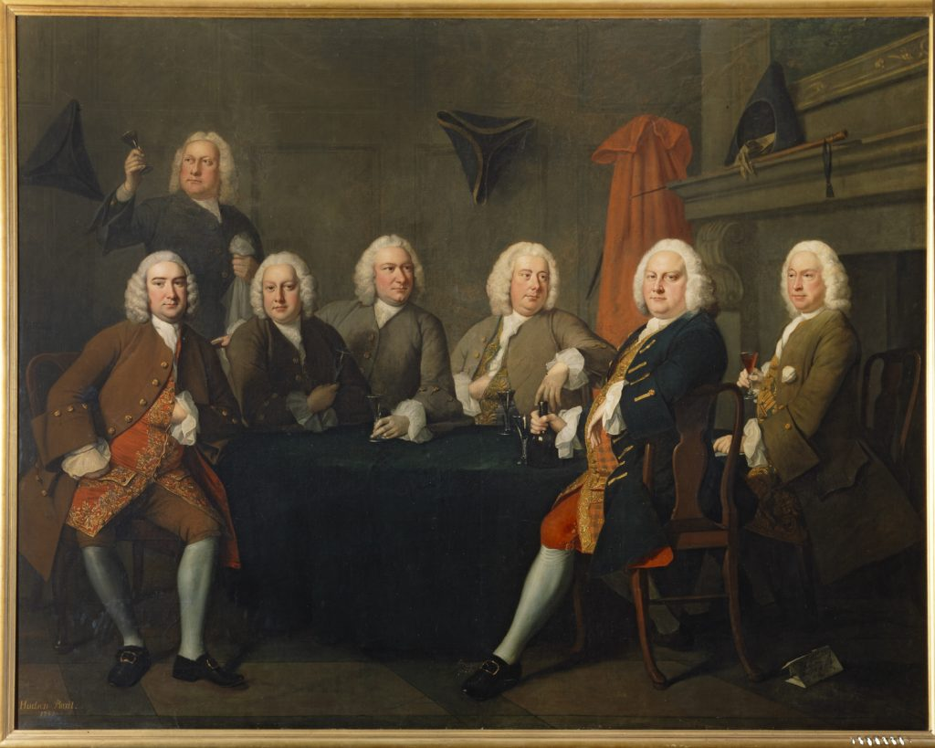 Benn's Club of Aldermen, Thomas Hudson (1752)