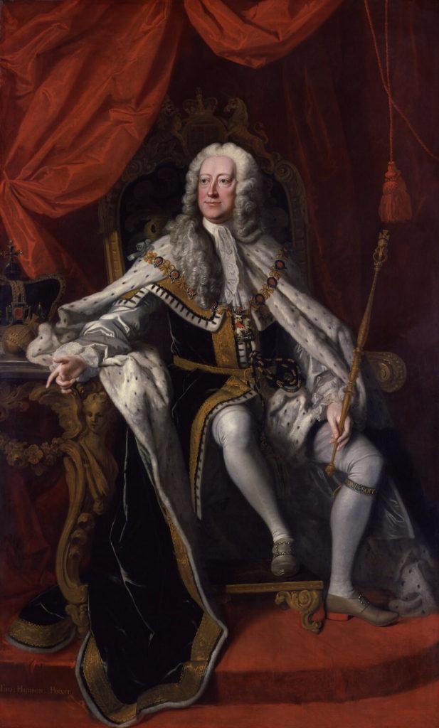 George II, par Thomas Hudson, 1744