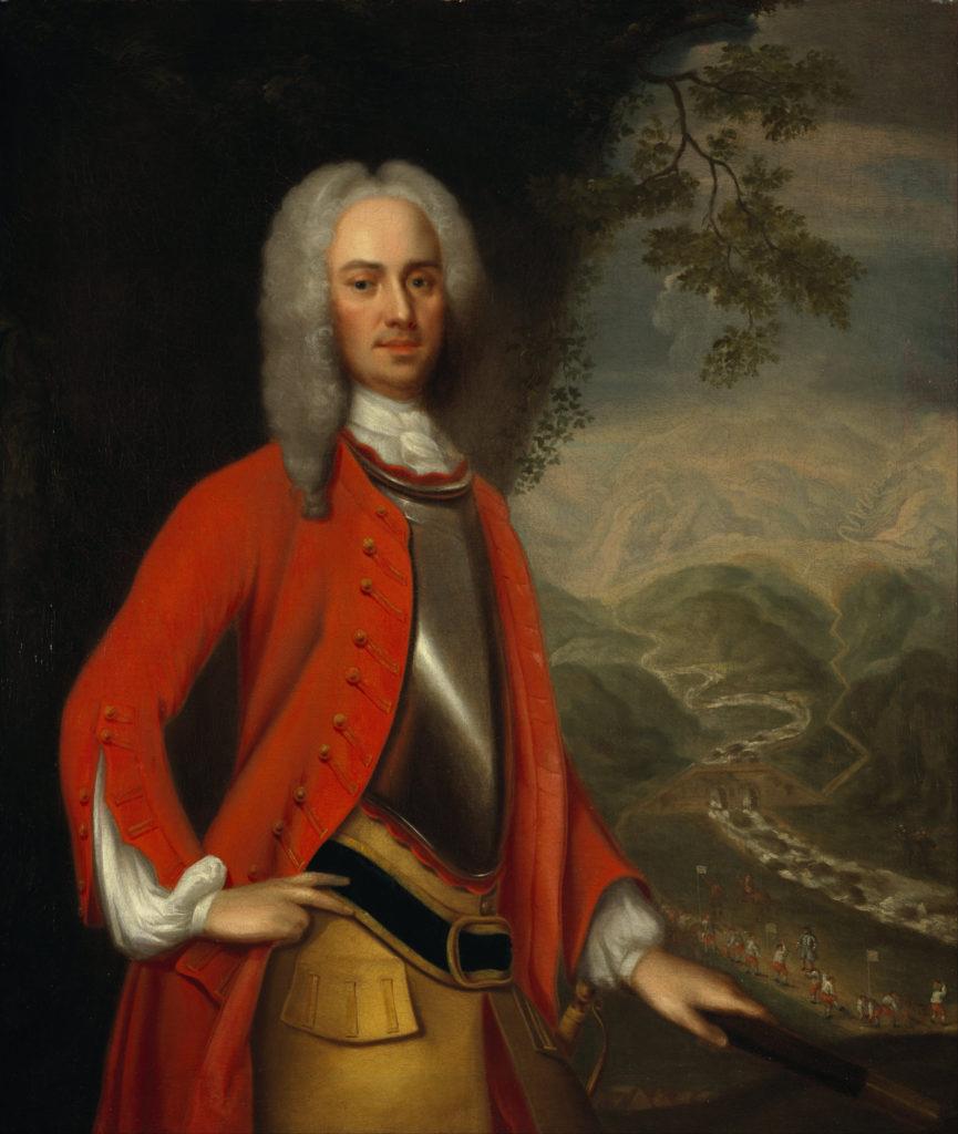 George Wade, 1731, attribué à Johan Van Diest
