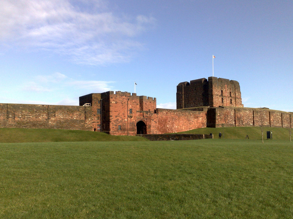 Le château de Carlisle (photo : Neil Boothman, 2008)