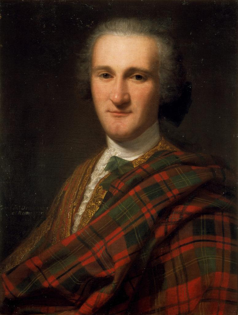 John Drummond, 1739, par Domenico Dupra (ref. PG 1597)
