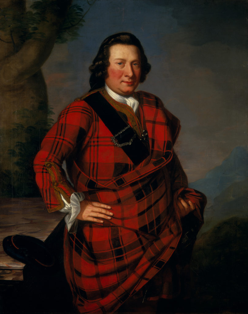 Charles Campbell of Lochlane, auteur inconnu, avant 1751, Ref. PG 2180, National Galleries of Scotland