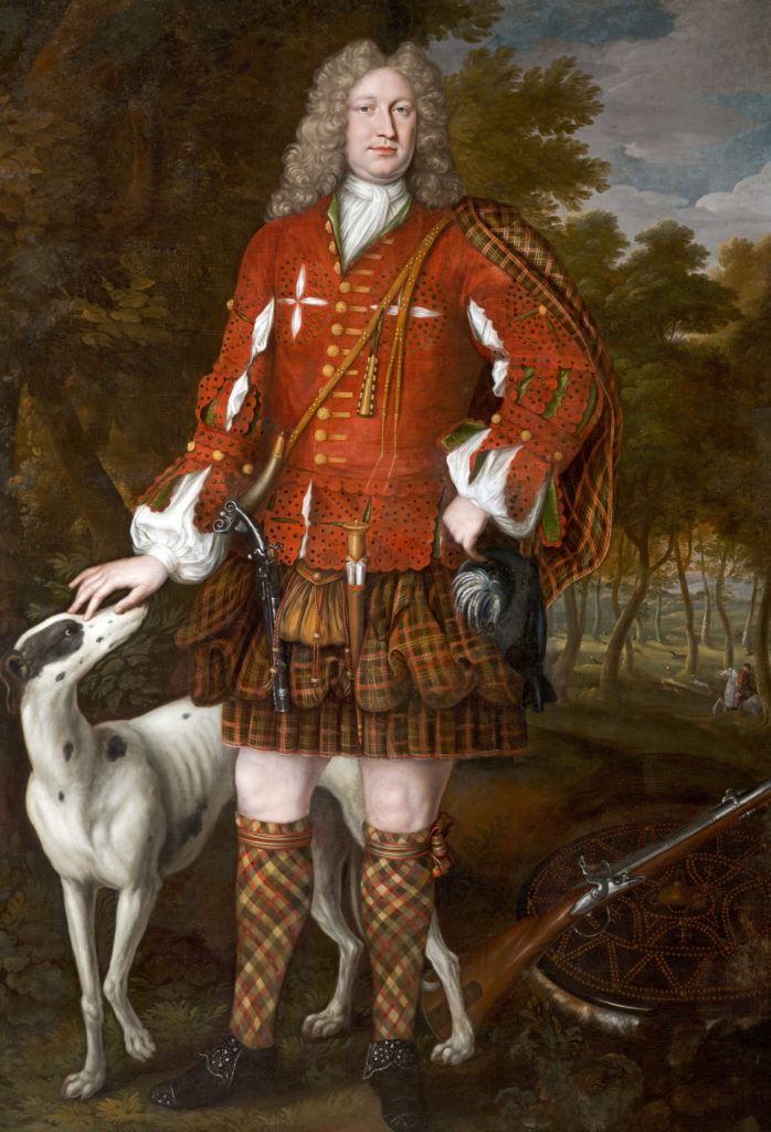Kenneth Sutherland, par Richard Waitt, 1712, Ref. PG 1095 National Galleries of Scotland