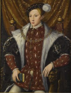 Edward VI - par William Scrots - vers 1550