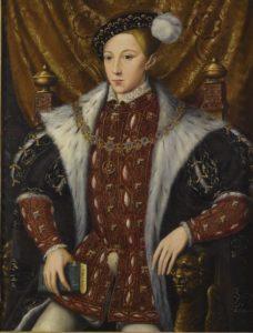 Edward VI - par William Scrots - vers 1550