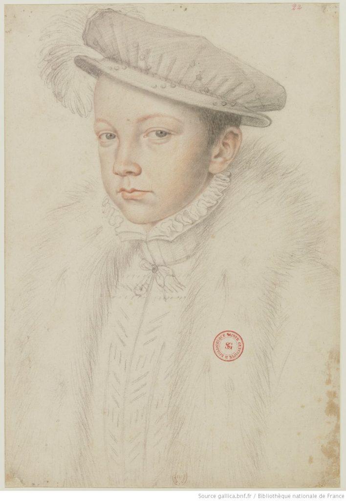 François II - par François Clouet - 1560