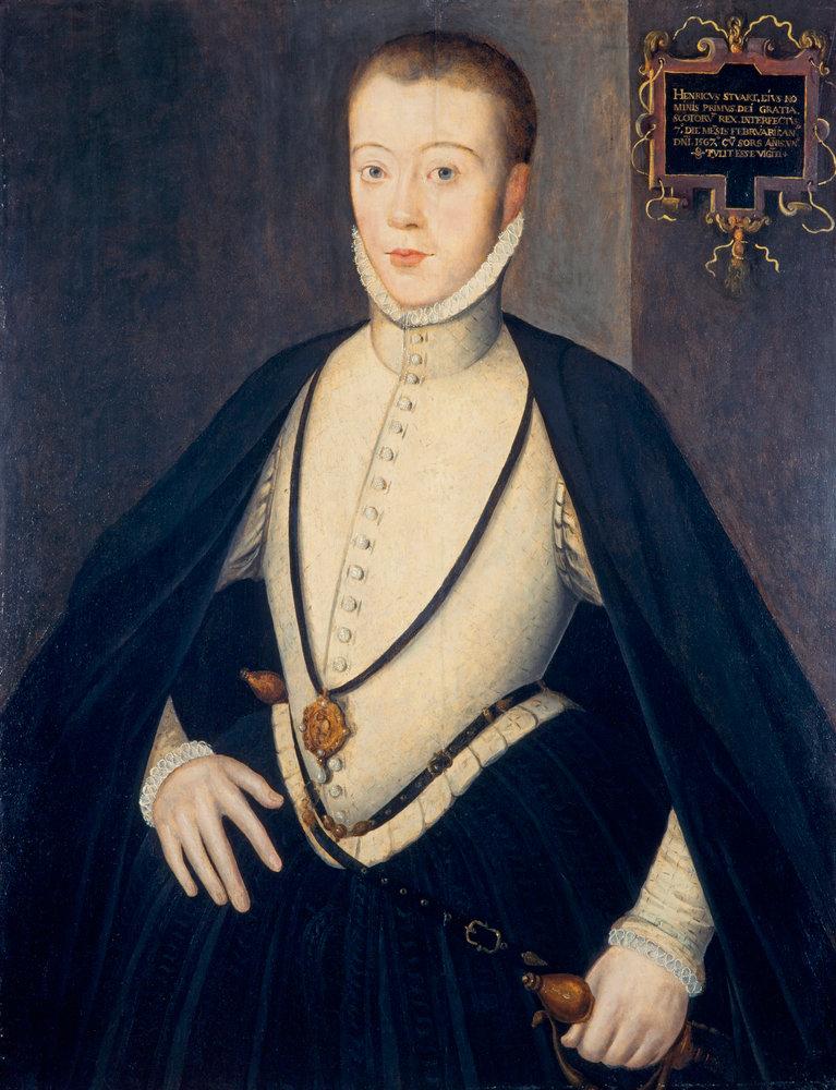 Henry Stuart, Lord Darnley, 2d mari de Marie Stuart - auteur inconnu - vers 1564
