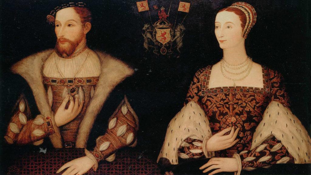 Jacques V d'Écosse et Mariede Guise - auteur inconnu - 16e siècle
