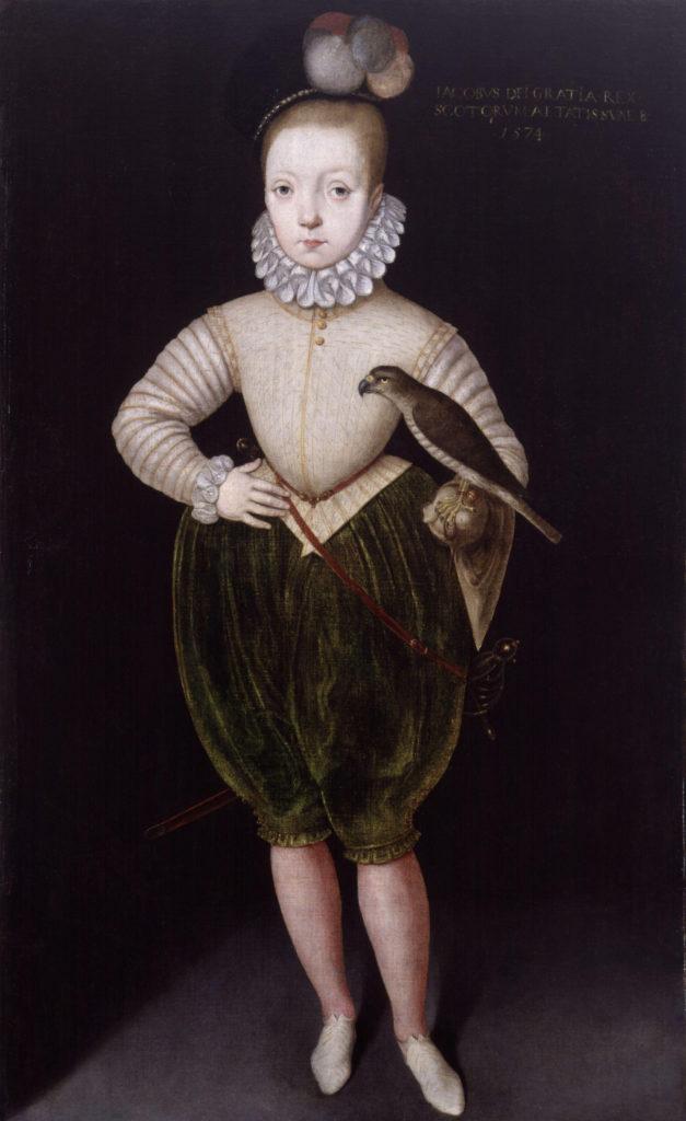 James VI d'Écosse et I d'Angleterre - par Arnold van Brounckhorst - 1574