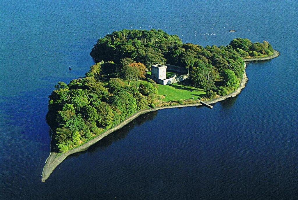 Le château de Loch Leven où fut emprisonée Marie Stuart, reine des Écossais