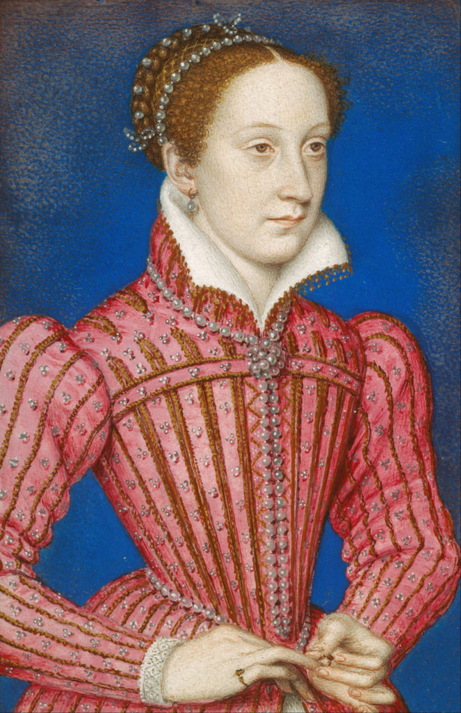 Marie Stuart - par François Clouet - vers 1558/1560
