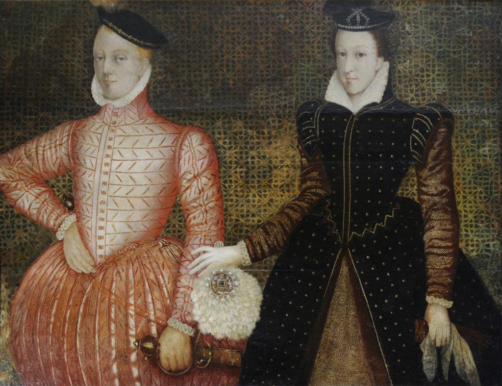 Henry Stuart, Lord Darnley, et Marie Stuart - auteur inconnu - vers 1565