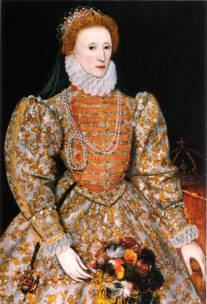 Elizabeth I, reine d'Angleterre et d'Irlande - auteur inconnu - vers 1575