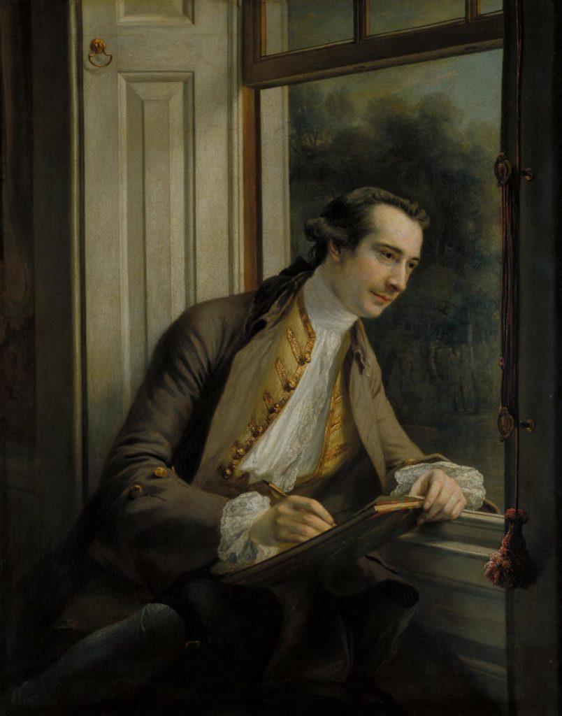Paul Sandby - 1761 - par Francis Cotes (Ref.N01943 Tate.org)