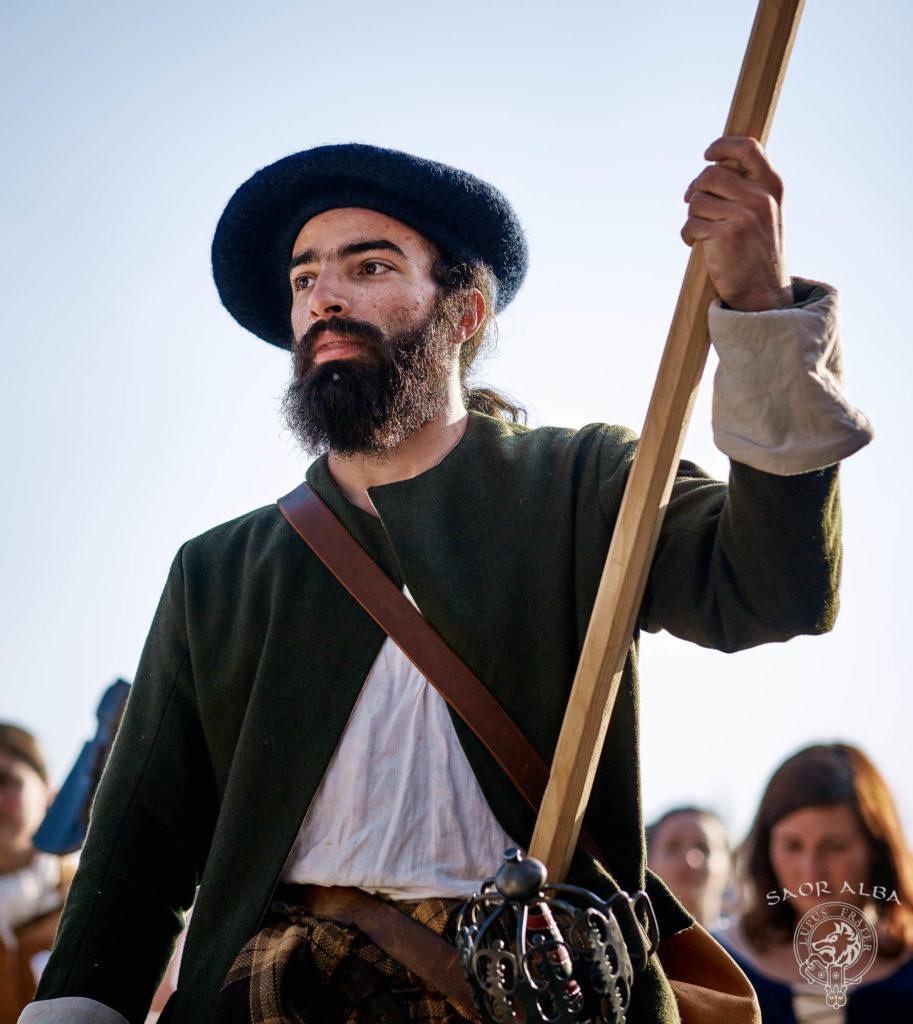 Highlander du XVIIIe siècle - Saor Alba à Sully sur Loire - Photo par Vectan Prod