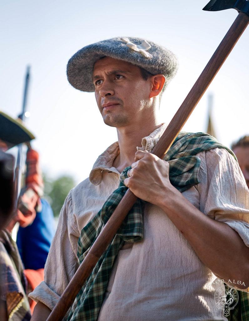 Highlander XVIIIe siècle - Saor Alba à Sully sur Loire - Photo par Vectan Prod