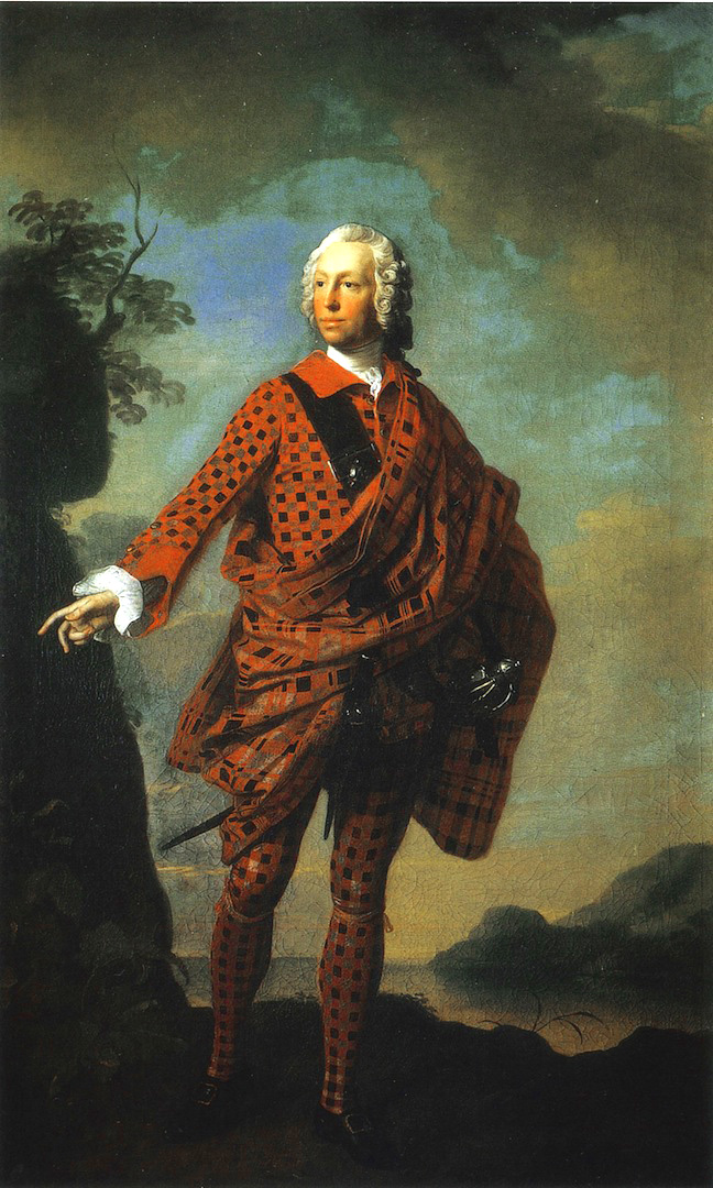 "Norman ""The Red Man"", 22e chef du clan MacLeod - par Allan Ramsay - 1747"