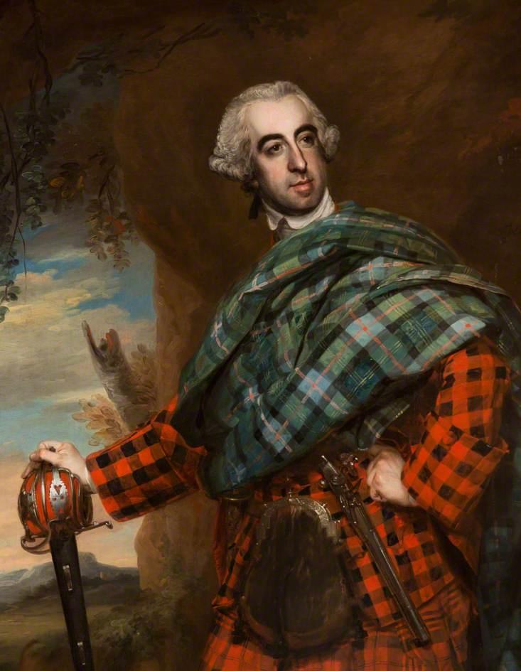 Pryse Campbell 17e thane de Cawdor (1726–1768), 1762 par Francis Cotes